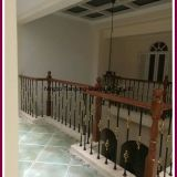 Cast Iron Stair Balustrade With Basket