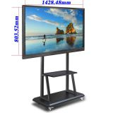 65 Inch Multi-touch All In One Intel I3 PC Portable Interactive Whiteboard TV Touch Screen Monitor
