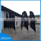 The Most Popular China Wholesale hot teardrop feather beach flag                                                                                                         Supplier's Choice