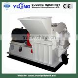 Waste Rubber Straw Hammer Mill , Multi Purpose Wood Chip Grinder Machine