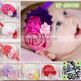 European styles hair accessories and jewelry hairband headband baby products ribbon flower MY-AB0039