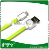 High speed cheap price noodle micro data usb cable,micro usb data cable for samsung cable cord