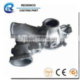 Die Casting for Automobile Pump Part, Made of Aluminum A380, CNC Machining and Shot Blast Finish