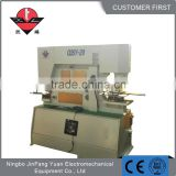 Good performance iron worker machine price hydraulic punch shear combined machine with CE