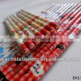 7Inches Drwaing Shrink Film Hb Pencil With Tip Top