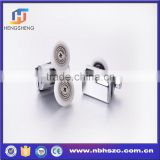 manufacturer ABS single and double shower hanging wheel bearing