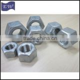 ASTM A194 Gr 2H Galvanized Heavy Hex Nut for Anchor Bolt                                                                         Quality Choice