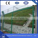 4.8mm 100mm x 150mm garden fence metal fence panel / curvy welded mesh fence with best quality