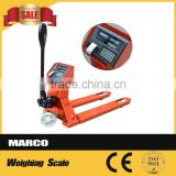Hydraul lifter digital used hand jack pallet scale