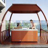 MONALISA OUTDOOR SPA WOOD GAZEBO