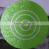Customized useful rubber playground ball for sale