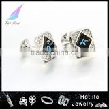 fathers day wholesale gifts wholesale mens accessories stainless steel branded cufflinks