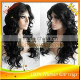 Hot Sale Loose Wave Brazilian Virgin Hair Full Lace Wig And Lace Front Wigs With Baby Hair For Black Women In Stock