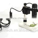 5M 300X USB Video microscope with stand 8 LEDs Brightness Adjustable Measurement Factory wholesales