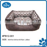 Copper pet bed for dogs