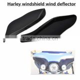 Plastic Side Wings bike Air Deflectors Windshield For Harley Davidso-n Touring FL '14-later Electra Glide Street Glide Tri Glide