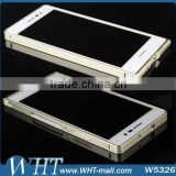 For Huawei Ascend P7 Ultra-thin Aluminum Metal Frame Bumper Case For Huawei P7 Metal Frame