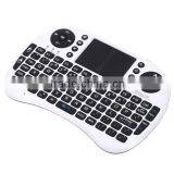 Mini Bluetooth rii i8 2.4g wireless mini keyboard for google android devices with multi-touch up to 15 meters /support