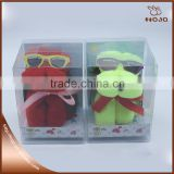 Hot sell party promotion gift dog towels box packing