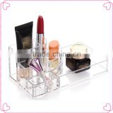 Hot acrylic display case/clear makeup organizer/lipstick organizer for sale