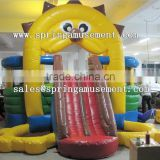 classical inflatable party jumper and tongue slide combo castle SP-CM022