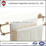 electric towel rack/towel stand externer shelf,mounting hardware,Bathroom fiitings ,inspection services in China,QC inspectors