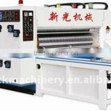 Corrugated Cartn Box Two Colors Flexo Printing and Slotting Machine