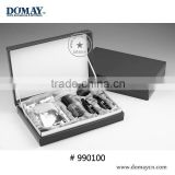 Faux leather cosmeceuticals box, cosmetic case, portable make-up cases