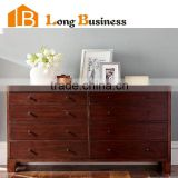 LB-VW5004 Country style bedroom furniture solid wood chest of drawer                                                                         Quality Choice