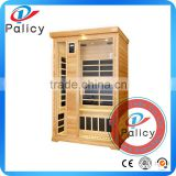 Manufacturer high quality red cedar far infrared sauna low emf