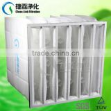 Clean-Link Synthetic fiber pocket filter with color white (manufacturer),aluminium filter