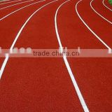Environmental-friendly raw materials for running track, polyurethane granuels and rubber granuels