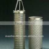 cleanable stainless steel basket strainer filters offered by professional manufacturer(Manfre)