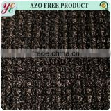 Top quality black lace net 100 polyester mesh knit fabric