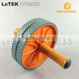 Fitness Exercise Body Training Double AB Wheel Plastic AB Roller Wheel