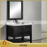 Classic floor mounted mdf waterproof bathroom vanity cabinet RA306                                                                                                         Supplier's Choice