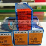 Original korloy stainless steel ISO turning carbide insert from japan SNMG120404-HS PC9030