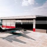 steel structure hangar tent moudle cheap aircraft hangar stock
