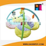 Baby indoor fun play blanket butterfly style with fitness frame