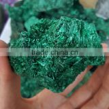 New Arrived Fancy Malachite Rough Stone with Druze Mineral Specimens for Sale