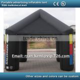 13ft 4m portable advertising inflatable tent inflatable canopy inflatable exhibition trade show tent with CE/UL blower