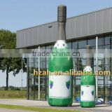 Giant Inflatable Champagne Bottle for Advertising Decoration