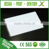 Provide Design~~!!! High Quality NFC Sticker Tag/ white PVC card with 4428 chip/ low cost rfid card 125khz rfid card