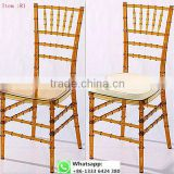 Quality factory supply transparent clear acrylic resin chiavari chair for wedding item: R1#
