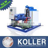 5Tons flake ice making machine with PLC Program Controller
