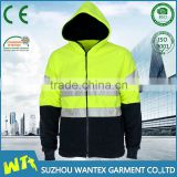 high quality polar fleece jacket reflective sport wear fleece jacket warm jacket men or women