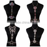 Crystal sexy waist belly chain body jewelry body chain
