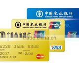 Lamination inkjet printing sheet of 0.3mm for pvc visa card