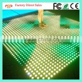 Pro Stage Disco DJ Wedding Party Show 64pcs SMD5050 RGB 3IN1 LED 8x8 Pixel Outdoor Waterproof Interactive LED Dance Floor Light