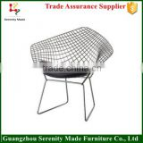 Replica harry Bertoia Wire Mesh Chair outdoor furniture